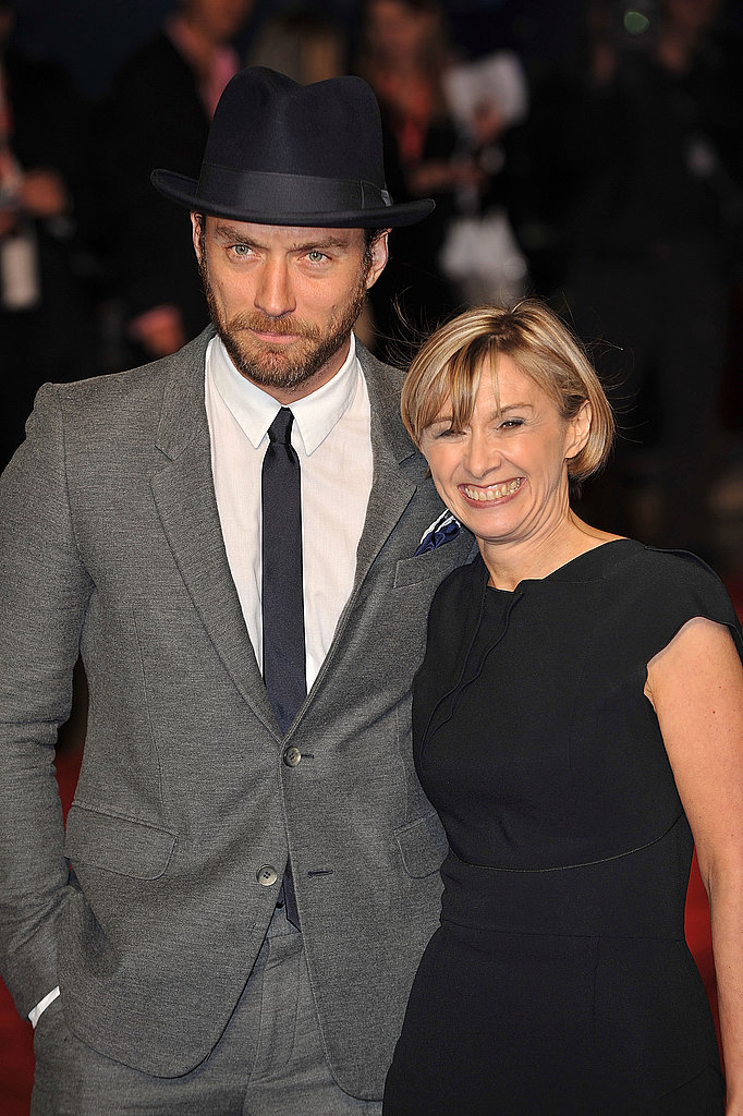 Jude Law at the London Film Festival.