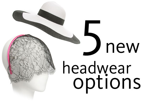 Five Non-Traditional Head Wear Options to Wear to the Races: From Turbans to Eye Veils to Fedoras, all Online!