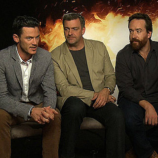 The Three Musketeers Cast on Kissing Scenes & Orlando Bloom