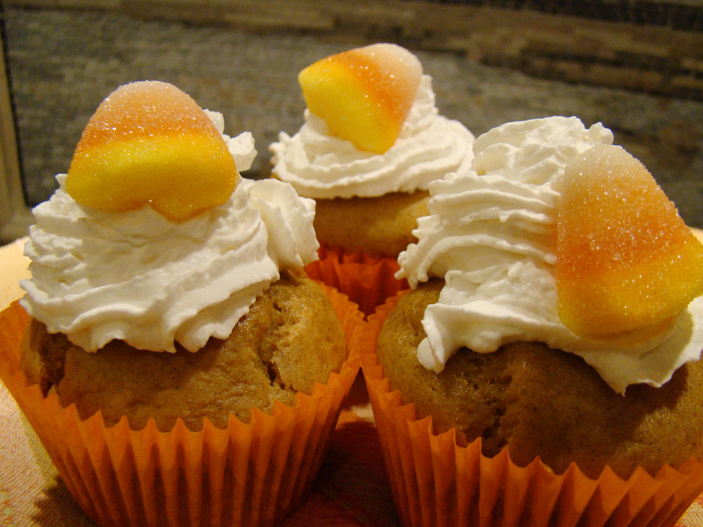 Vegan Pumpkin Pie Cupcakes