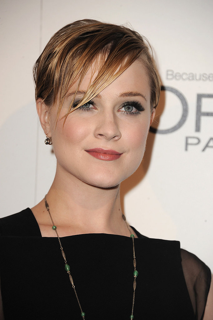 Evan Rachel Wood was an honorary guest at Elle's Women in Hollywood Tribute.