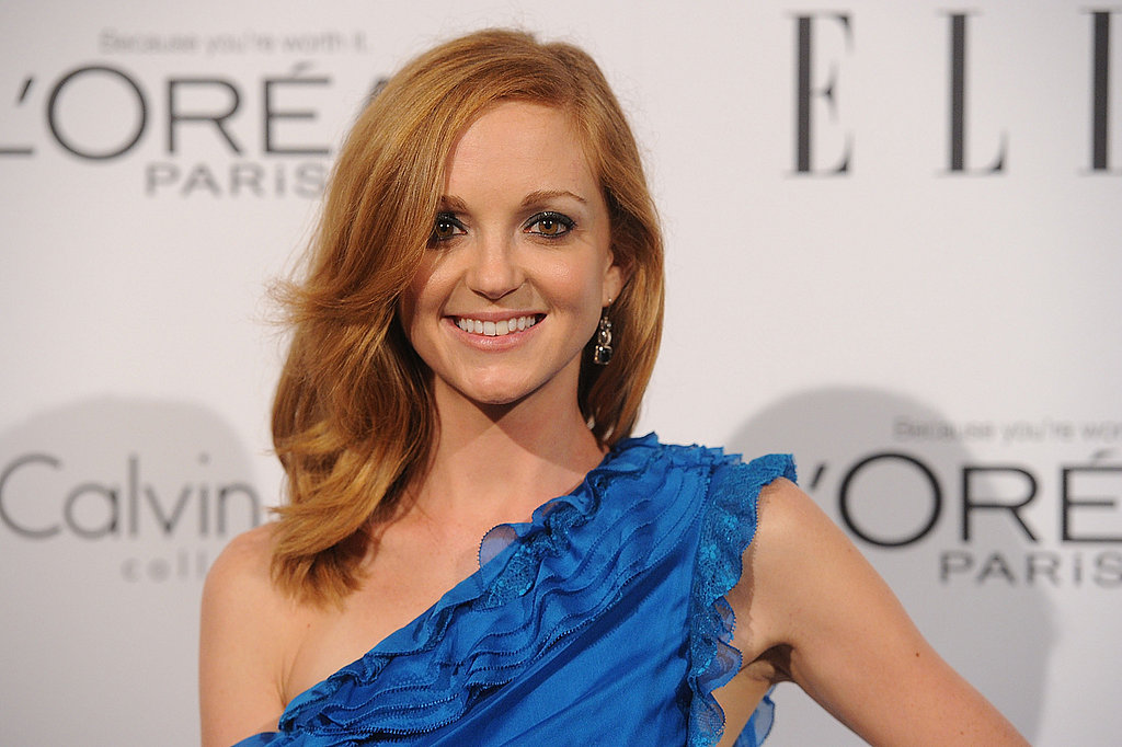 Jayma Mays came out to support women in Hollywood.