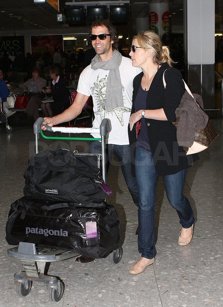 Casually dressed Ned and Kate left Heathrow Airport together.