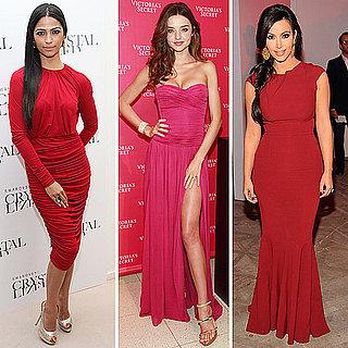Kim Kardashian in Roland Mouret Dress