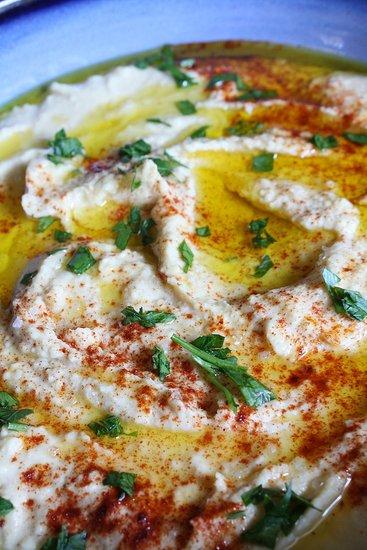 Authentic homemade hummus