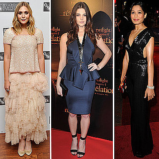 Ashley Greene in Givenchy at Twilight Movie Premiere