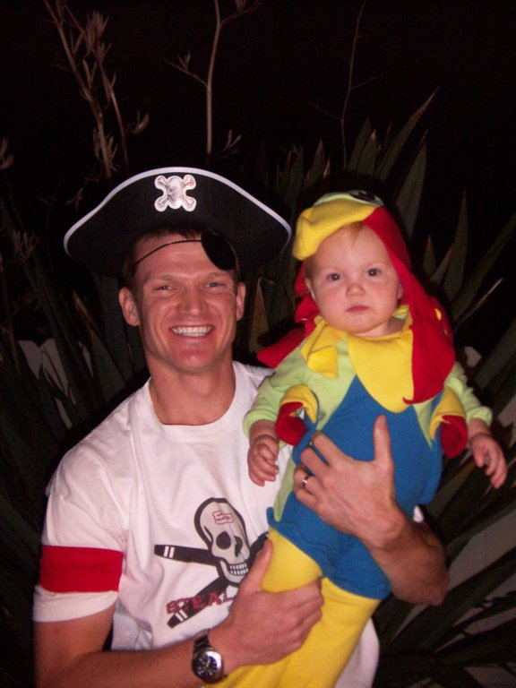 A Pirate and His Parrot