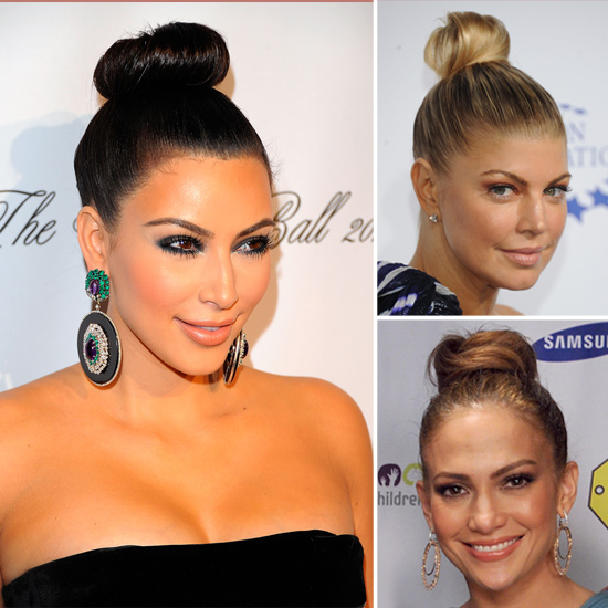 Topknots Hair Trend For Fall 2011
