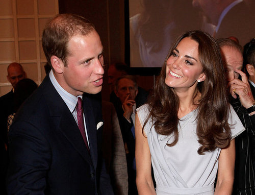 Prince William and Kate shared a laugh in California in 2011.