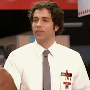 Zachary Levi in Pilot Episode of Chuck