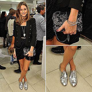 Olivia Palermo Wearing Giambattista Valli For Macys