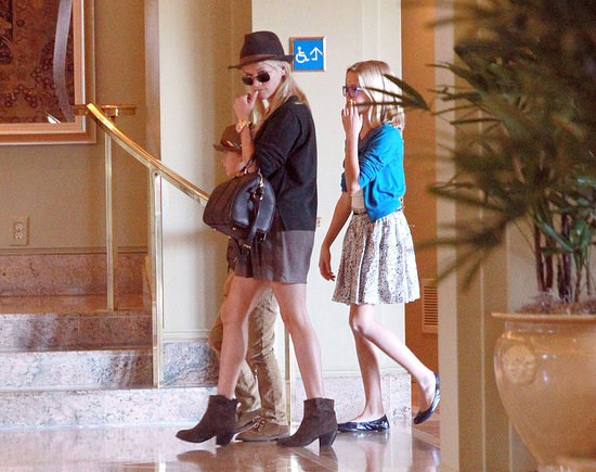 Reese Witherspoon, Jim Toth, Deacon Phillippe, and Ava Phillippe spent Sunday together.