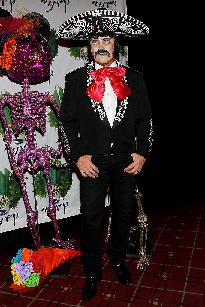 Michael Kors was almost unrecognizable in his mariachi costume in 2011.