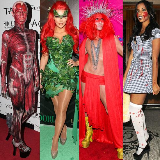Celebrities Dress Up For Halloween 2011