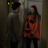 Katie Holmes as the Slutty Pumpkin on How I Met Your Mother