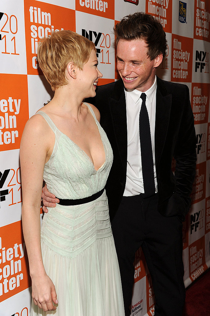 Eddie and Michelle Williams attended the 2011 New York Film Festival.