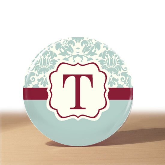 With this handmade ice blue and cranberry damask pocket mirror ($3), your recipient can be cute and classy, all while discretely checking for broccoli in her teeth. If you like the concept but prefer a different look, check out more designs from Etsyer loverdoodles' shop.