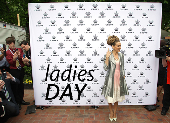 Pictures of Celebrities at 2011 Crown Oaks Day: See Joan Collins, Jennifer Hawkins, Sarah Jessica Parker & more at Ladies Day!