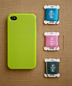 For the DIY'er: Leese Design iPhone 4/4S Cross Stitch Case ($25)