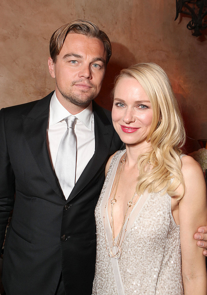 In November 2011, Leo posed with Naomi Watts at the afterparty for their film J. Edgar.