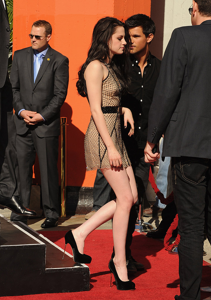 Kristen Stewart's Breaking Dawn Press Tour Style