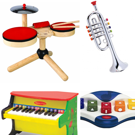 Can You Feel the Beat? Toys For Musically Inclined Tots
