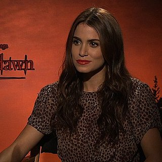 Nikki Reed Describes Bella's Breaking Dawn Wedding Dress
