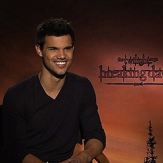 Taylor Lautner Breaking Dawn Video Interview on Battling Robert Pattinson and His Hollywood Crush