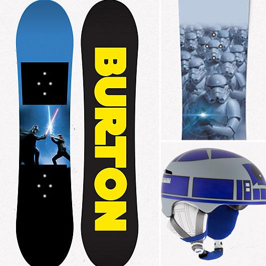 Star Wars Burton Snowboards