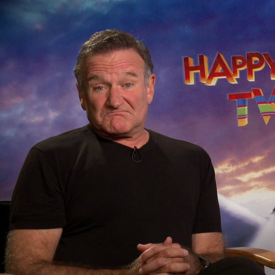 Robin Williams Happy Feet Two Interview (Video)