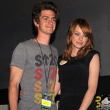 Emma Stone and Andrew Garfield at Party Together (Video)