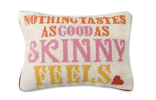 Jonathan Adler Needlepoint Pillow