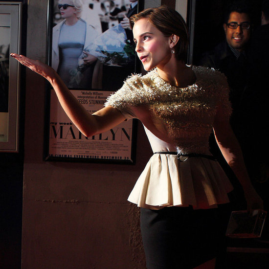 Emma Watson My Week With Marilyn Premiere Pictures