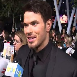 Kellan Lutz Video Interview at Breaking Dawn Part 1 Premiere