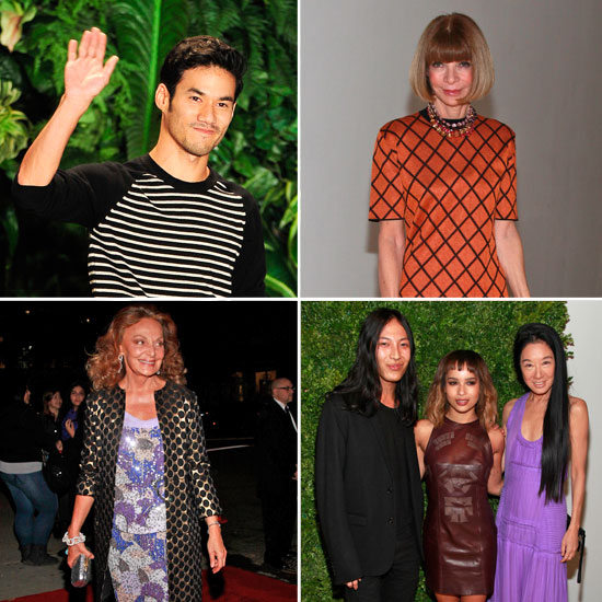 2011 CFDA/Vogue Fashion Fund Awards Winners and Celebrities