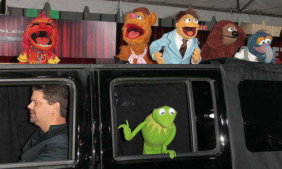 The stars of The Muppets loved the attention they were getting at their Hollywood premiere on Nov. 12!