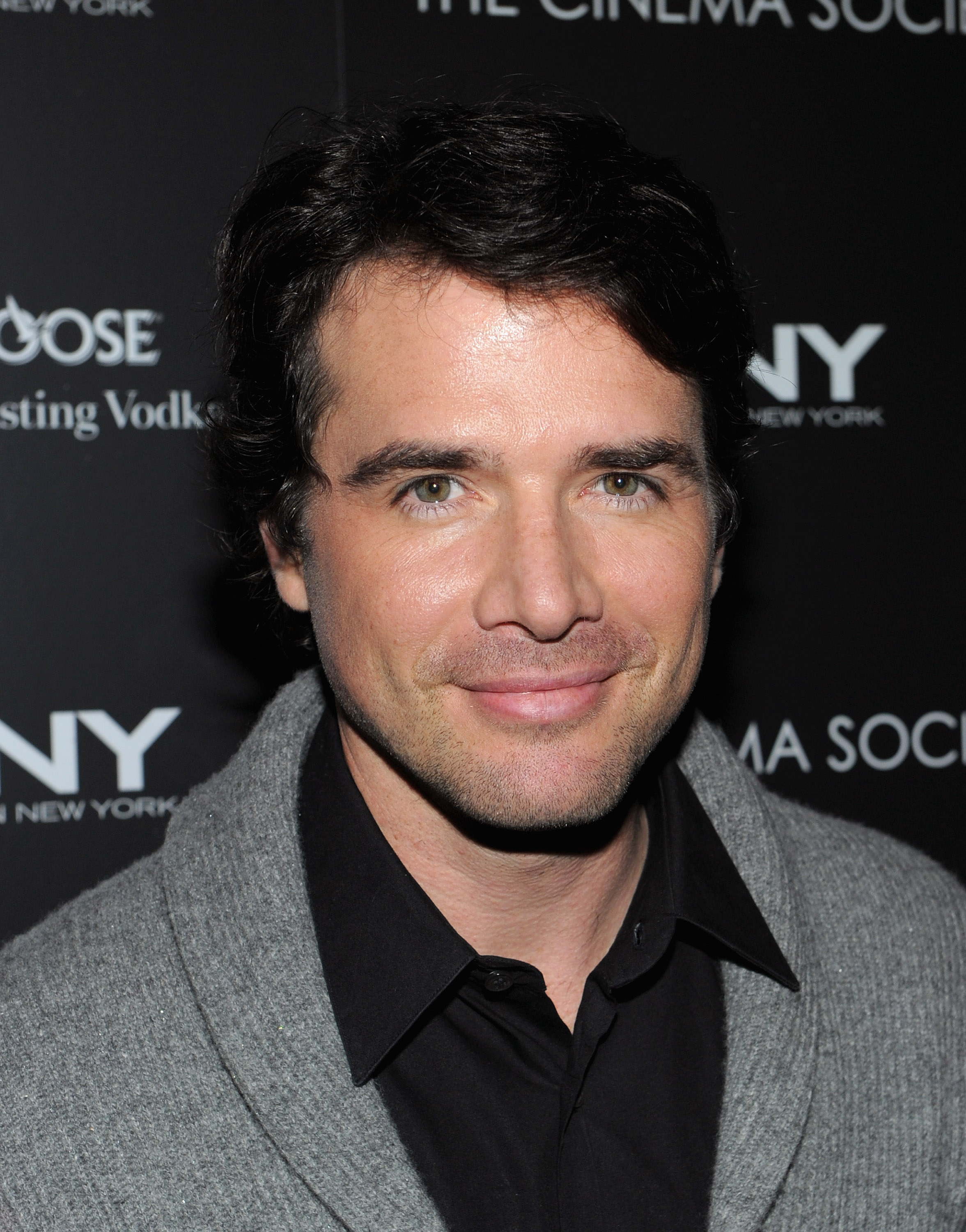 Matthew Settle out in NYC.