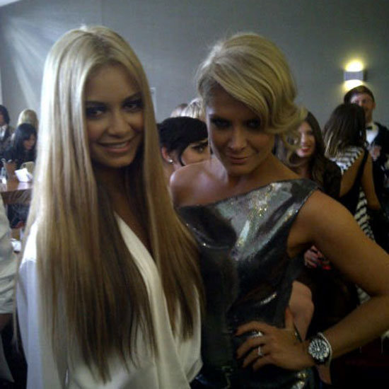 Celebrity Twitter Pictures from the 2011 ARIA Awards Kylie See all the celebrityMinogue, Natalie Bassingthwaighte, Delta Goodrem