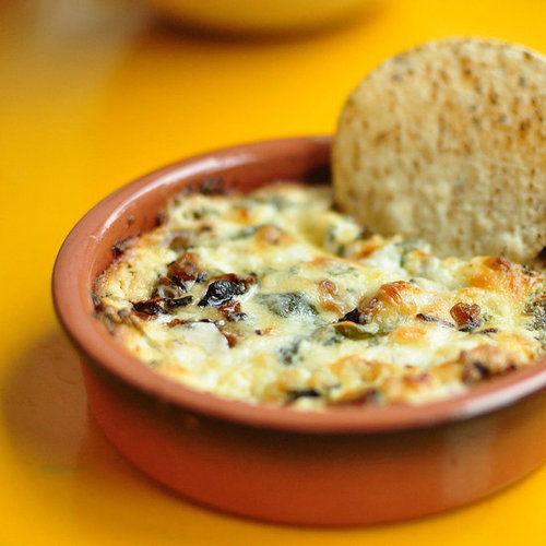 Mushroom and Goat Cheese Queso Recipe