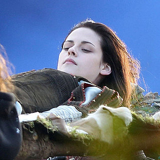 Kristen Stewart Filming Snow White and the Huntsman Pictures