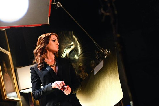 Behind the Scenes With Emily Blunt on Her Opium Perfume Commercial
