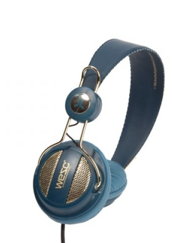 WeSC Oboe Golden Jazz blue Headphones