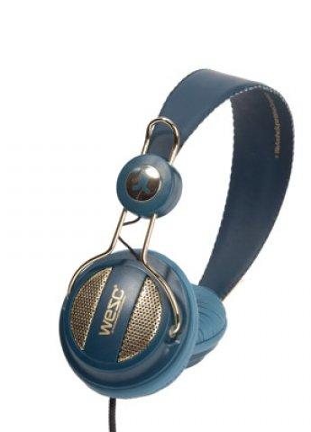 WeSC Oboe Golden Jazz blue Headphones