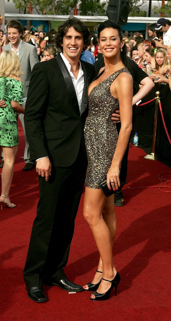 2007: Andy Lee and Megan Gale