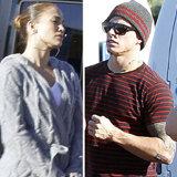 Jennifer Lopez and Casper Smart in Hawaii