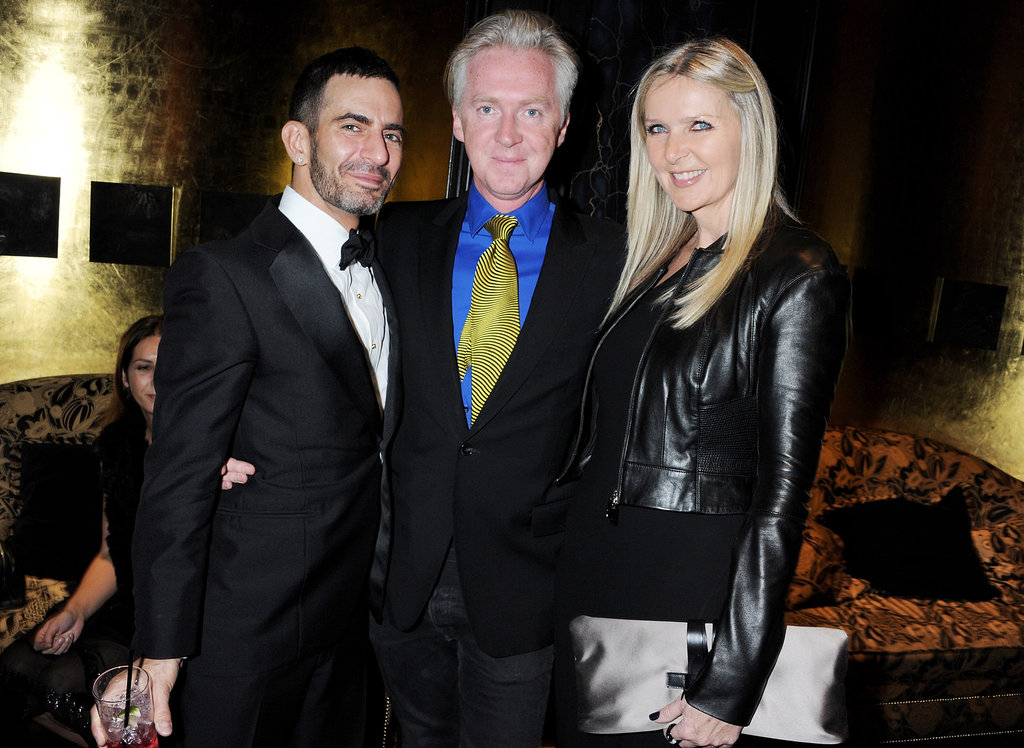 Marc Jacobs, Philip Treacy and Amanda Wakeley