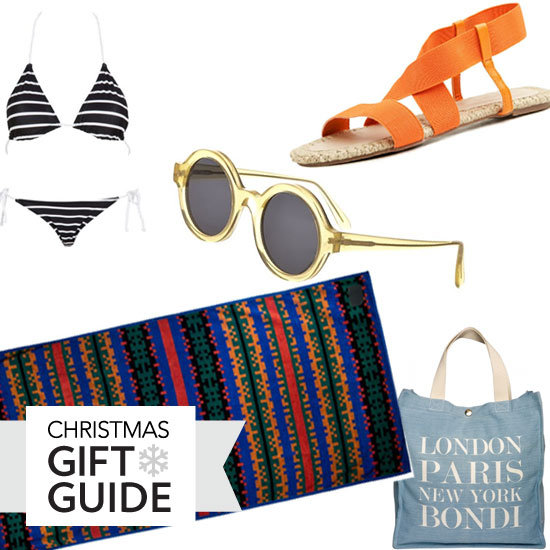 The Ultimate Christmas Gift Guide for the Bikini Babe: Sexy Swimwear, Beach Totes, Cool Sunglasses, Designer Beach Towels & more