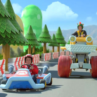 Live Action Mario Kart 7 Ad