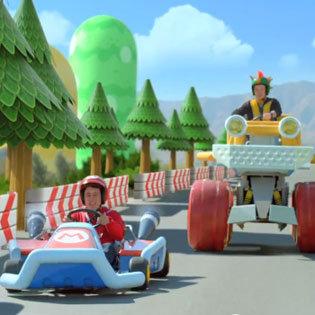 Live Action Mario Kart 7 Ad