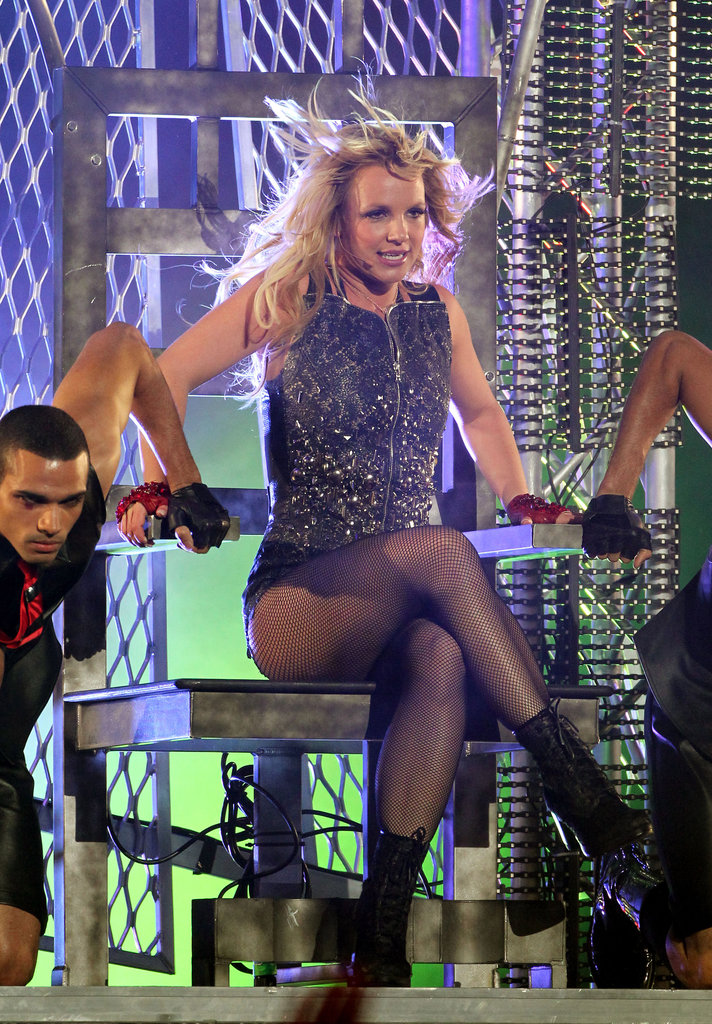 Britney Spears gave a good show on Jimmy Kimmel Live in March 2011.